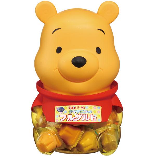 在可爱的造型桶底下,内含大小朋友皆爱的 水果口味优酪小布丁,又