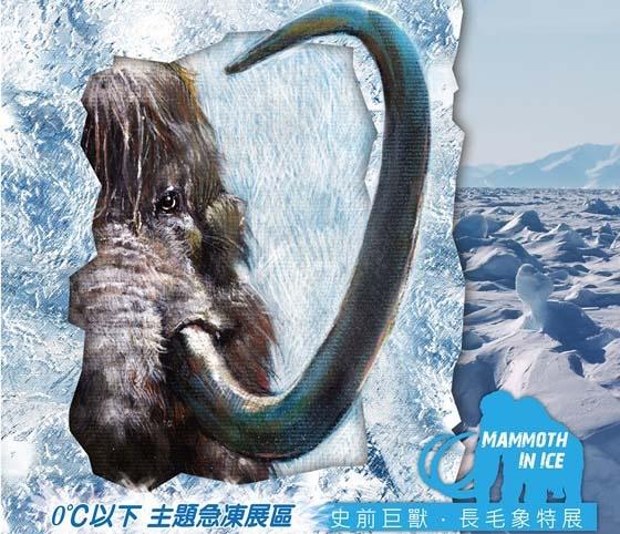 冰封的史前动物图片