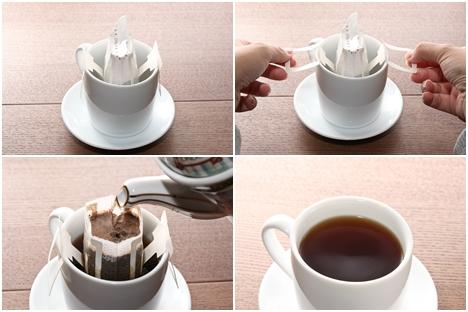热咖啡冲泡步骤