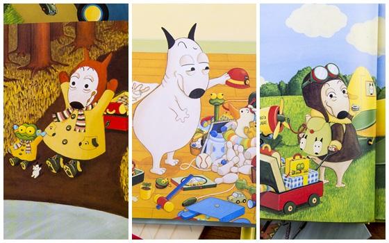 有趣活泼的图画,简单易读的故事 岛田由佳图画书   包姆与凯罗系列