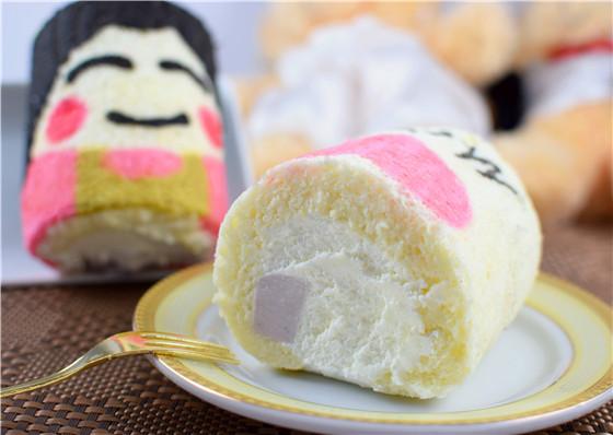 甜美可爱的彩绘蛋糕甜点,好啾咪