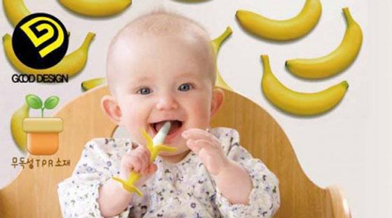 可爱的造型疗愈宝宝发牙期的不适感.给宝贝最温柔的抚慰.