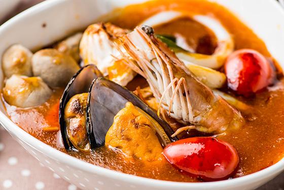 汐止親子餐廳-汐止親子館-海鮮湯