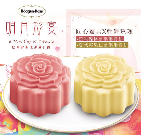Häagen-Dazs/中秋月餅/冰淇淋月餅/冰淇淋