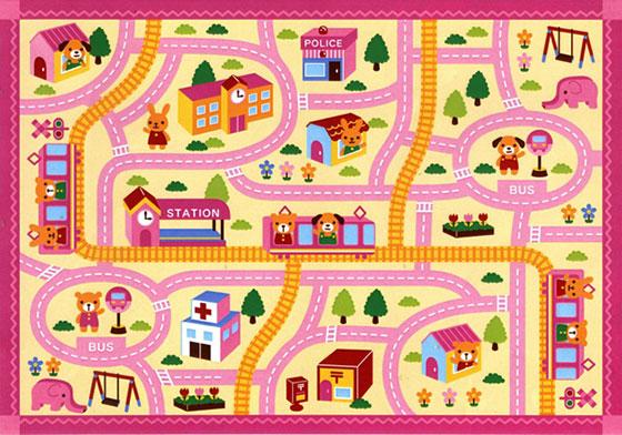 兒童手繪路線圖