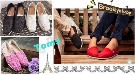 經典不敗的潮流懶人鞋【TOMS】!多款多色好搭配,一套就走,隨性搭出休閒時尚Style!