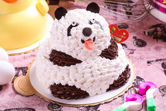 经典黄色小鸭七吋蛋糕/团团圆圆猫熊七吋蛋糕/超可爱粉红猪七吋蛋糕(3