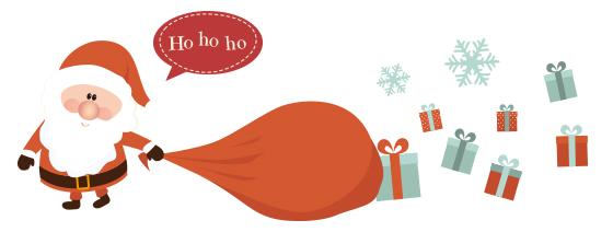 圣诞缤纷小物系列组-圣诞佳礼头香!缤纷可爱的圣诞对