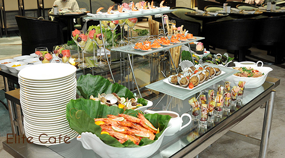 台北威斯汀六福皇宮/Elite Café/早午餐/無限/牛排/海鮮/甜點