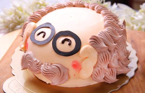爸爸可爱蛋糕图片大全