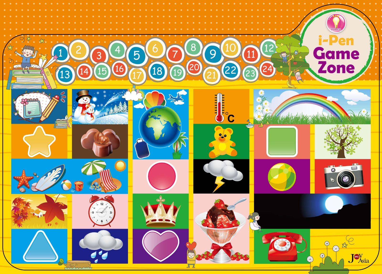 互動遊戲魔法桌墊日常對話與數字計算 培養孩子學習語言的興趣,從生活中的對話用語學起,讓學習更加有效率!24句常用日常生活對話和數字計算,讓孩子習慣雙語的成長環境,原來學習英語和中文是那麼簡單的事!(點圖看大圖)   互動遊戲魔法桌墊故事歷險與動物世界 童話故事裡有好多動物等著和你說hello!超過30種動物、雙語童話故事,藉由聽故事學習單字詞彙,讓學習更加凝聚專注力!(點圖看大圖)   互動遊戲魔法桌墊音樂世界與兒歌欣賞 學音樂的孩子不會變壞!這裡有好多好聽的兒歌一起歡唱,在學習之餘,也能接受音樂的