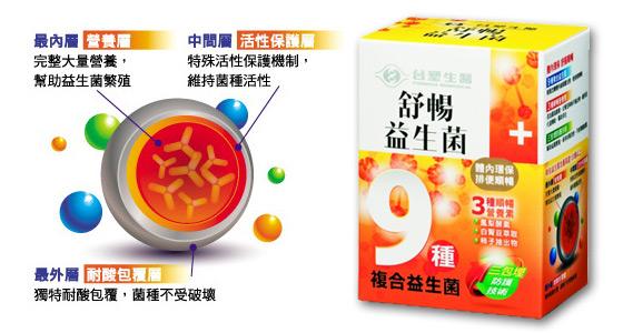 台塑生醫/舒暢益生菌