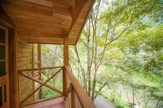 杉林溪森林生态渡假园区 小木屋一泊三食专案