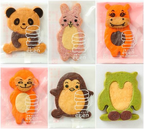 还可自己用随附的巧克力笔diy,帮动物们描绘上生动的表情,可爱的动物