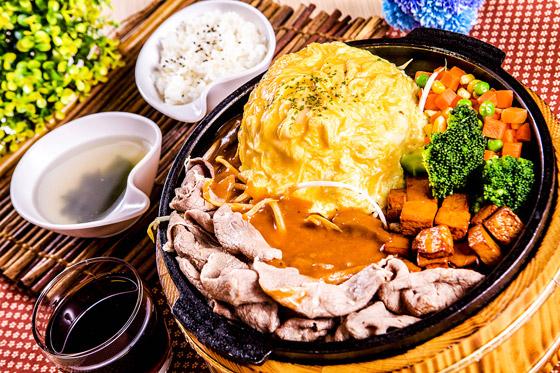 鸡排木桶饭or面/炸虾可乐饼蛋包饭/海鲜木桶火锅