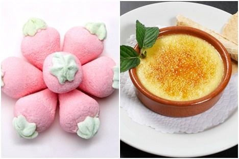 元义大利进口造型棉花糖一包:香蕉/冰淇淋/草莓/香菇/爱心(造型5选1)