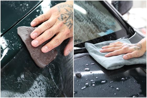 和塑料件护理涂抹保护剂+两桶水洗车工法+光素霉杀菌