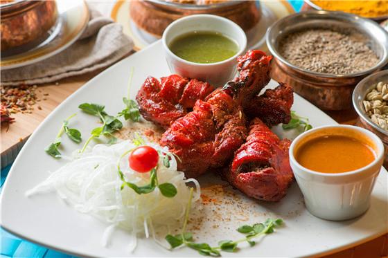 印度皇宮/印度/咖哩/雞腿/薑黃/烤餅/千層餅/牛腩