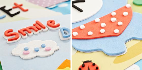 立体EVA泡棉拼贴画 动动手 动动脑,亲手完成可爱的拼贴画,让孩