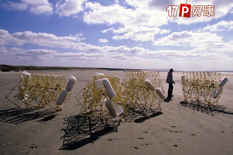 荷兰国际级工艺大师泰奥扬森,花费二十余年光阴加上惊人创意,以水管