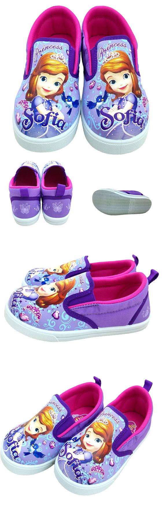 开学季冰雪奇缘与苏菲亚公主系列授权鞋