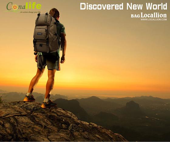国外登山旅行专用背包