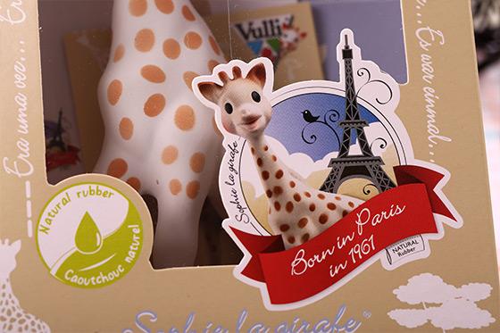 法國/Vulli/蘇菲/長頸鹿/固齒器/幼兒/寶寶