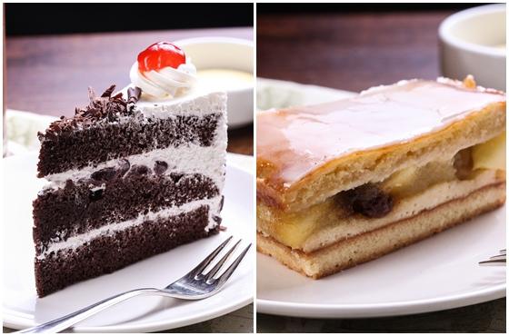 黑森林蛋糕 / peter特制青苹果蛋糕   除了经典异国风味料理