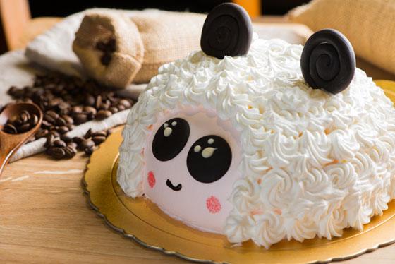 羊咩咩造型蛋糕   给你最应景的甜蜜滋味!