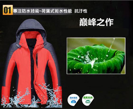 買一送一/加絨//防水/防風/保暖/高機能/衝鋒/外套