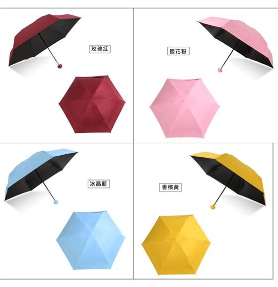 便攜傘/傘/雨傘/膠囊傘/五折傘/摺疊傘