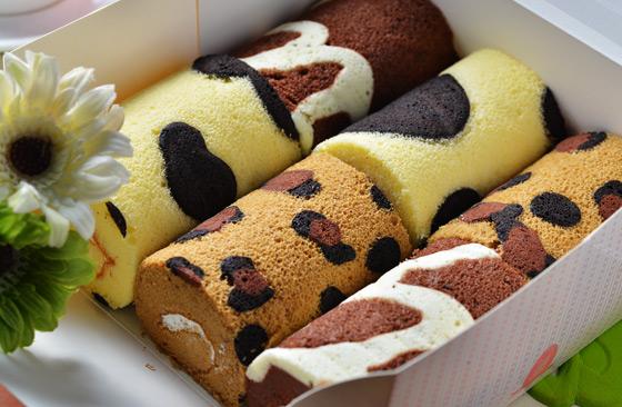 cake创意蛋糕-超「萌」动物纹路造型蛋糕卷礼盒