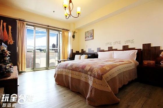手绘旅店房间图片