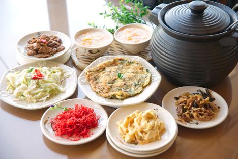 中式晚餐(四菜一汤)