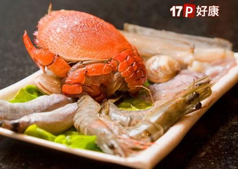 日式螃蟹矢量图