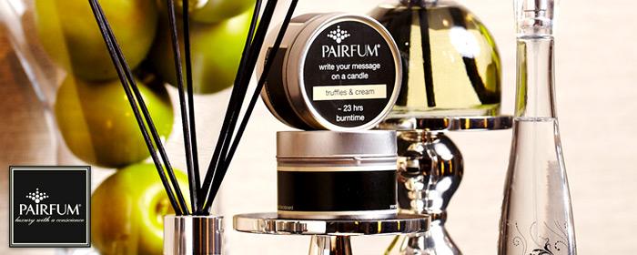 PAIRFUM-傳情香氛燭罐 二罐 光影與香氛的幸福微燻,天然純淨精緻香調,傳遞動人心意,燭光點點盡現英式浪漫氛圍