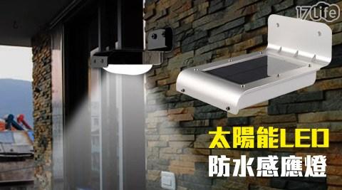 平均每入最低只要293元起(含運)即可購得太陽能LED防水感應燈1入/2入/4入。