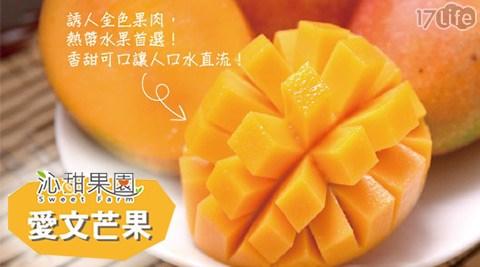 沁甜果園-枋山新鮮直送-特選愛文芒果(9~11顆裝)