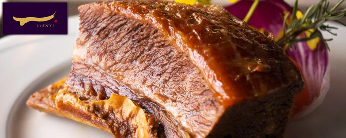 聯一 台塑牛排創始店-單人套餐乙客 油脂豐腴細嫩的帶骨牛排,傳遞華人味蕾的感動與飲食記憶,見證歷史的經典滋味,邀您品賞
