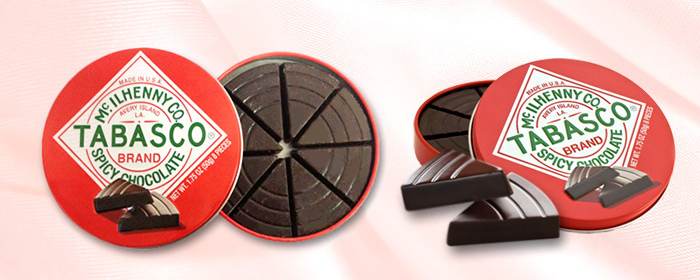 The Chocolate Traveler-TABASCO經典辣味黑巧克力3盒組/5盒組 微甜帶苦,正是巧克力的經典味道。但,誰說巧克力只能有單一口味?火辣甜心將顛覆印象味蕾