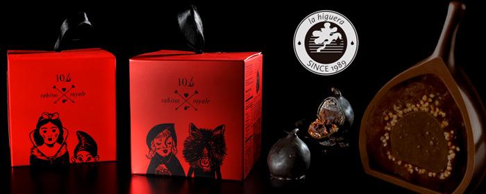 西班牙rabitos royale chocolate-無花果實巧克力 巧克力與松露相遇之初愛戀溫柔,探索白蘭地略苦微甜的醇厚風情,相約品味動人幸福片刻