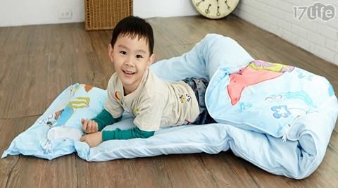 可爱卡通小朋友暖暖可爱铺棉睡袋-正版授权的可爱卡通