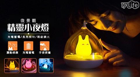 創意LED童話小精靈微景觀夜燈