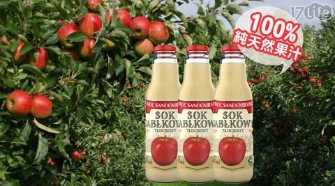 OWOC/100%/冷壓/多酚/純蘋果汁/水果/果汁