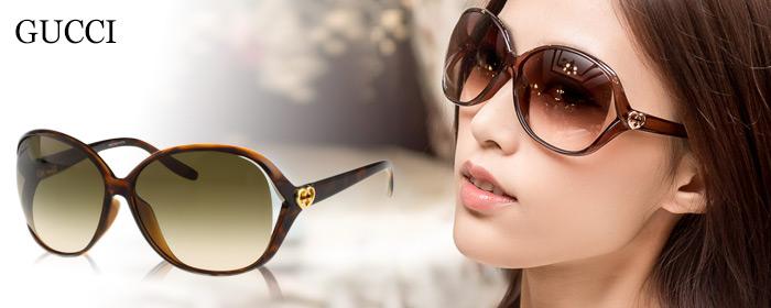 GUCCI-太陽眼鏡 沉穩琥珀、柔美流線,經典LOGO新穎設計,極富高質感的品牌特色,玩味摩登生活美學