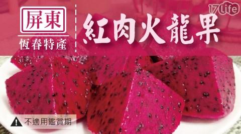 屏東/水果/紅肉火龍果/輕食/沙拉/餐盒/消化/腸胃/5斤/禮盒/果汁