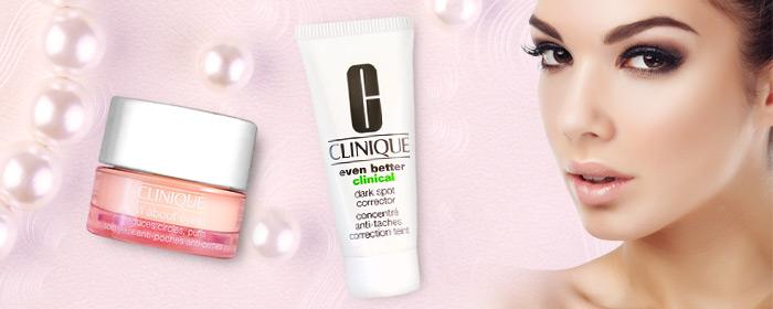 CLINIQUE 倩碧-全效眼霜/勻淨科研淡斑精華 歐美專櫃保養品牌,清新水嫩肌的美麗秘密,全效眼霜、勻淨科研淡斑精華優惠組合!