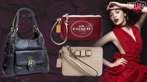 COACH-時尚經典女士系列包款