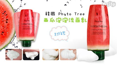 韓國Phyto Tree-超綿密西瓜泡泡洗面乳