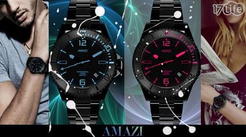 AMAZI-Darki Blue沉默星空系列休閒腕錶44mm
